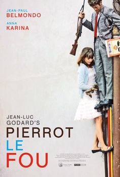Pierrot le Fou (The Criterion Collection) Movie Poster. $25 at Criterion.com. MUST HAVE!