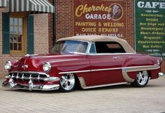 54 Chevy Convertible