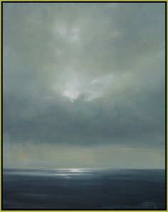 """Campagnia Skies 2"" by Doug Foltz - Oil on canvas"
