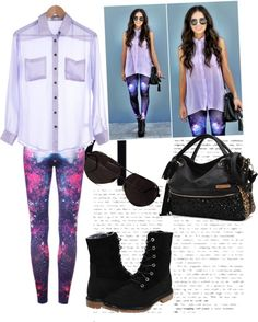 """parecido pero no igual"" by iilzee-xp ❤ liked on Polyvore"