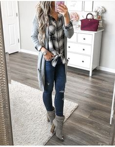 20 more flannel outfits women winter fall fashion , flanell outfits damen winter herbst mode flannel outfits women winter fall fashion , Outfits women winter fashion, Over 40 women winter fashion, 2019 women winter fashion Cozy Fall Outfits, Spring Outfits, Casual Outfits, Classy Outfits, Black Outfits, Simple Outfits, Fall Outfit Ideas, Winter Cardigan Outfit, Early Fall Outfits