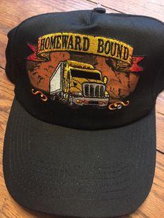 36a5b3b2b3f Semi Truck Snapback hat trucker Homeward Bound Embroidered cap NWT Capsmith   fashion  clothing