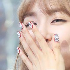 snsd tiffany nails