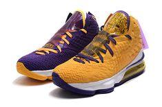 Nike Lebron 17 Purple-Yellow two-tone sport shoes Men's Basketball Shoes Lebron James, Lebron 17, Nike Lebron, Nike Kyrie, Tenis Basketball, Blue Basketball Shoes, James Basketball, Basketball Art, Lbj Shoes