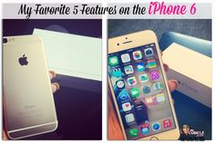 My Favorite 5 Features on the iPhone 6 #iphone6 #tech