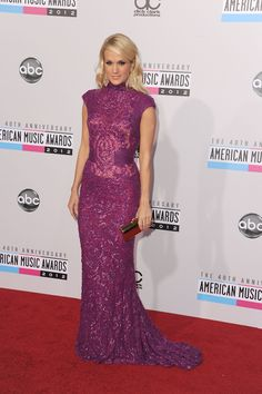 2012 American Music Awards in Los Angeles 11/18/12