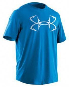 221fb28d56b Under Armour® Fish Hook Logo T-Shirt for Men - Short Sleeve