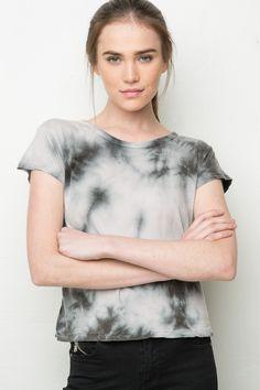 Brandy ♥ Melville | Mason Tie-Dye Top - Tops - Clothing