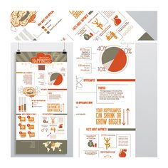 Infographics on Behance by Arnica Botha Happiness Illustration Statistics Research