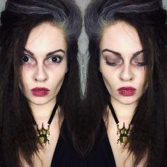 Bellatrix Lestrange halloween makeup. Harry Potter More
