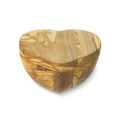 Olivewood Heart Salt Keeper #williamssonoma I absolutely LOVE this pinch bowl that I picked up last night!