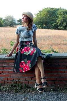Alessia Lattementa: Handmade fullskirt @lottaclogs