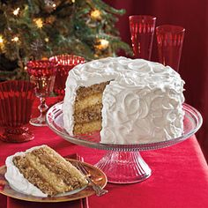 Southern Living: Spice Cake with Citrus Filling: This cake is bound to become a family favorite. For added beauty, use a kitchen torch to lightly brown the edges of the frosting, if desired.