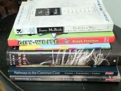 "Literacy Coach and Author, Jen Allen, has a variety of books on her ""to be read"" stack.   The Color of Water: A Black Man's Tribute to His White Mother by James McBride  Guy-Write: What Every Guy Writer Needs to Know by Ralph Fletcher  A Foodie Magazine  Gone Girl: A Novel by Gillian Flynn  Pathways to the Common Core: Accelerating Achievement by Lucy Calkins, Mary Ehrenworth, Christopher Lehman  What Readers Really Do: Teaching the Process of Making Meaning by Dorothy Barnhouse and Vicki…"