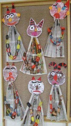Fall Crafts, Diy And Crafts, Christmas Crafts, Arts And Crafts, Paper Crafts, Projects For Kids, Diy For Kids, Art Projects, Crafts For Kids
