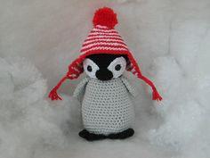 crochet pinguin pattern Christel Krukkert
