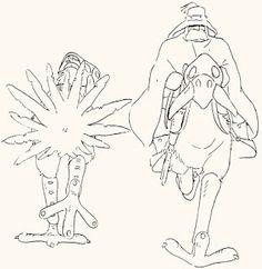 風の谷のナウシカ / Nausicaä of the Valley of the Wind (1984) - Character Design