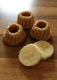 Kleine Kuchen für Kinder ganz ohne Zucker.