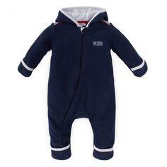 9ca9f121f06c3 Navy Polar Fleece Hooded Babygrow £ 67,00. Christine Hanway · Baby Boy