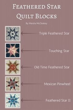 Feathered Star Quilt Block – Marsha McCloskey Shows You How!