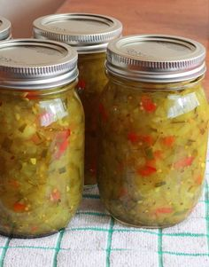 Easy Homemade Dill Pickle Relish. #relish #canning #recipes  daringgourmet.com