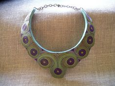 Polymer Clay Necklace Night at the Opera   Flickr - Photo Sharing!