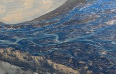 Aerial View of the Icelandic Rivers