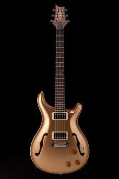 Guitar Center: Platinum : PRS Hollowbody II w/ Piezo Gold Top