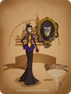Злая Королева стимпанк дисней
