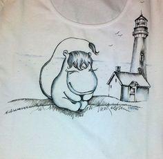 авторский дизайн футболок, заказать рисунок на футболке в Екатеринбурге