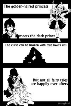 Mavis and Zeref, the sadness of their fate is almost too much to take. My heart aces for them, :( May it change in time. <3 ~Fairy Tail