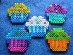 cupcakes van strijkkralen