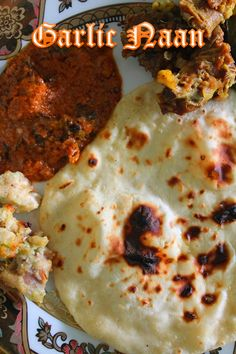 Garlic Naan Recipe / Garlic Naan without Yeast - Yummy Tummy