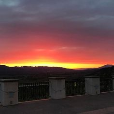 #sunsets in Napa are truly magical. #nofilter #stunning #takeitallin