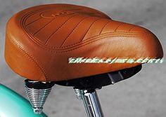 Endzone Beach Cruisers Chopper Bicycle Saddle Seat Web Spring Flames