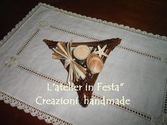 Le triangle des Bermudes! Porte bougie en papier recyclé. Handmade.