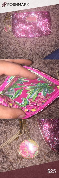 Lilly Pulitzer wristlets Good condition Lilly Pulitzer Bags Clutches & Wristlets