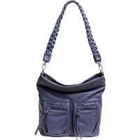 Epiphanie   Lyric Shoulder Bag (Slate Blue)