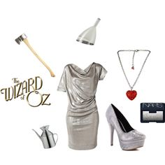 tin man tin man costume for the ladies. Halloween costume ideas from the Wizard of oz. #tinman #tinmancostume