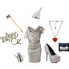 tin man tin man costume for the ladies. Halloween costume ideas from the Wizard of oz. #tinman #tinmancostume