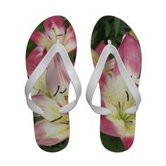 Lilies Flip-Flops