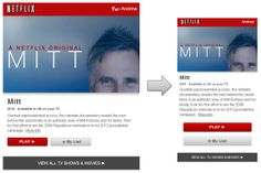 Responsive email design from Netflix