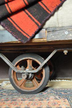 carey berkus designs, detail of repurposed textile carts into day beds for sollano 16 ,san miguel de allende mexico