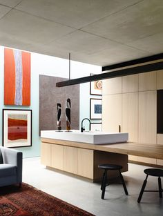 Art wall | Rob Kennon Architects | In-situ House