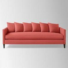 West Elm Dunham Sofa Toss Back Linen Weave salmon Lotus Pink couch.jpg