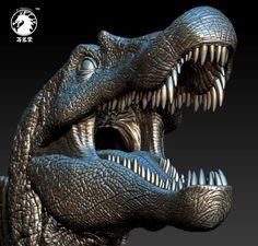 Spinosaurus Aegyptiacus, Jurassic Park 3, The Lost World, Extinct Animals, Dinosaur Art, North Africa, Prehistoric, Fossils, Love Art