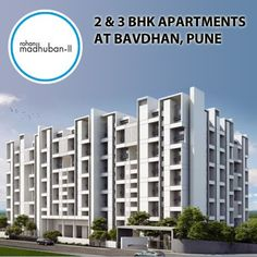 Rohan Madhuban - Phase II - 2 & 3 BHK apartments by Rohan Builders at Bavdhan, Pune To know more Visit: http://www.puneproperties.com/rohan-madhuban-phaseii-flats-bavdhan.html #PuneProperties #FlatsinPune #ApartmentsinPune #FlatsinBavdhan #ApartmentsinBavdhan