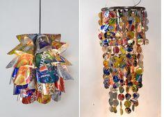 Luminaires - design PO! - Design - Objets recyclés - Copyright : Po!