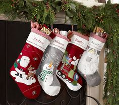 Quilted Stocking Collection | Pottery Barn Kids