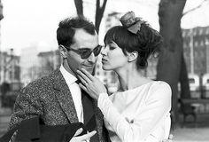 Anna Karina and Jean-Luc Godard - Photo: Courtesy of Anna Karina